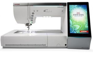 A picture of a Janome Horizon MC-15000 Sewing Machine