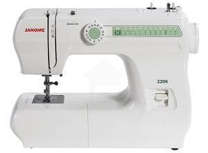 A picture of a Janome 2206 Sewing Machine