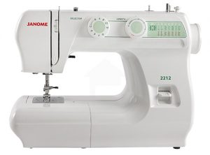 A picture of a Janome 2212 Sewing Machine