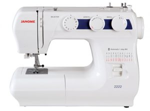A picture of a Janome 2222 Sewing Machine