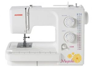 A picture of a Janome 7318 Sewing Machine