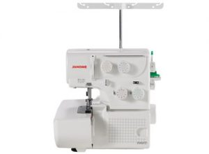 A picture of a Janome 8002D Serger Machine