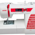 A picture of a Janome DC2015 Sewing Machine