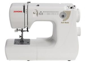 A picture of a Janome Gem Gold 660 Sewing Machine