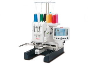 A picture of a Janome MB4S embroidery machine