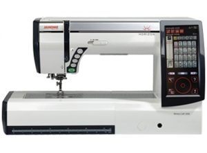 A picture of a Janome MC-12000 sewing machine