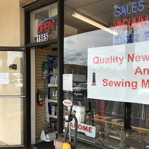 Storefront image of Ron's Sew & Vac