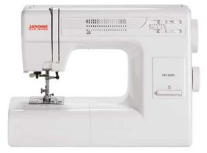 A Picture of a Janome HD-3000 Sewing Machine
